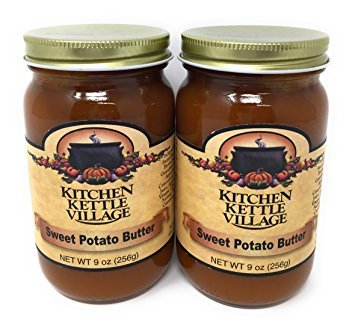 Kitchen Kettle Village Sweet Potato Butter, (Amish Made), 9 Ounce Jars (Pack of 2) by Kitchen Kettle Village (Image #4)