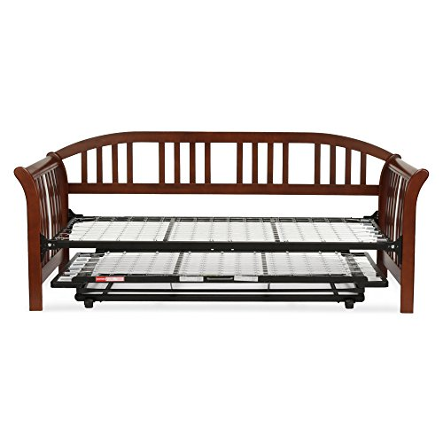 Amazon.com: Fashion Bed Group Salem Complete Wood Daybed with Link ...