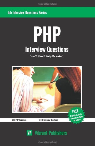 PHP Interview Questions You'll Most Likely Be Asked (Job Interview Questions)