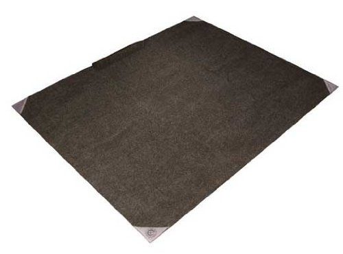 5.25x6.5 Drum Rug Carpet Mat Non Slip by Trademark Innovations