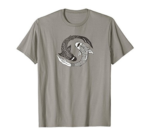 (Two Fish Swimming Pisces Zodiac Symbol Hipster T-Shirt)