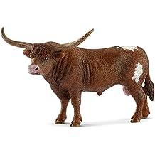 Schleich Texas Longhorn Bull Toy Figurine