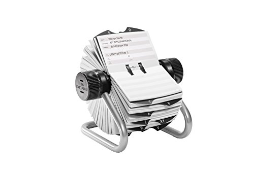 Durable Telindex Rotary Index - Silver/Black