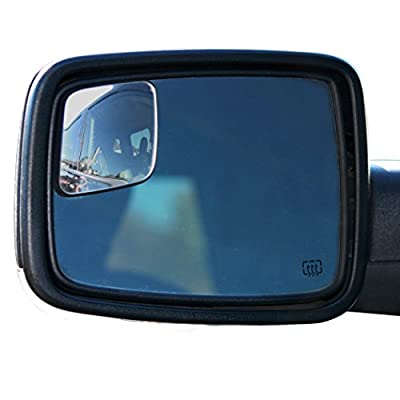 RM10 Blind Spot Mirrors for 2009-2018 Ram Trucks with Non-Towing Mirrors by WadeStar