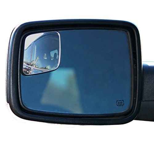 - WadeStar RM10 Blind Spot Mirrors for 2009-2018 Ram Trucks with Non-Towing Mirrors