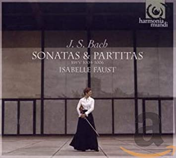 J.S. バッハ:無伴奏ソナタ&パルティータ集 (J.S.Bach: Sonatas & Partitas BWV 1004-1006 / Isabelle Faust (Vn))