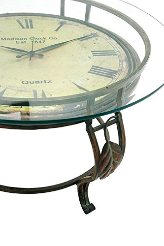 Aspire Cocktail Table Clock Reddish product image