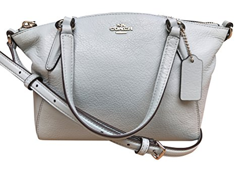 Coach Pebble Leather Mini Kelsey Satchel Crossbody Handbag, Aqua - Buy  Online in Oman.   coach Products in Oman - See Prices, Reviews and Free  Delivery in ... bf22b97e39