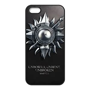iPhone 5 5s Cell Phone Case Black Game of Thrones 008 SYj_853826