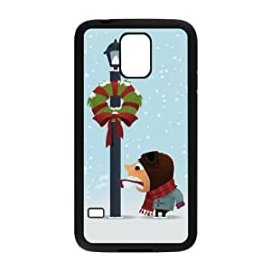 funny winter holidays Samsung Galaxy S5 Cell Phone Case Black xlb2-261854