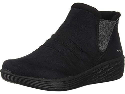 Ryka Women's NIAH Ankle Boot, Black, 8 M US