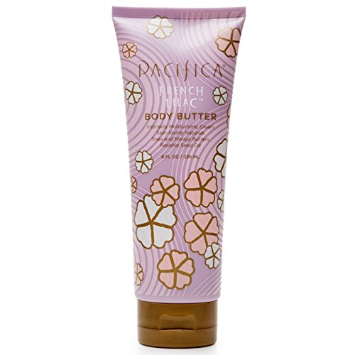 Pacifica, Natural Bodycare, Body Butter, French Lilac, With
