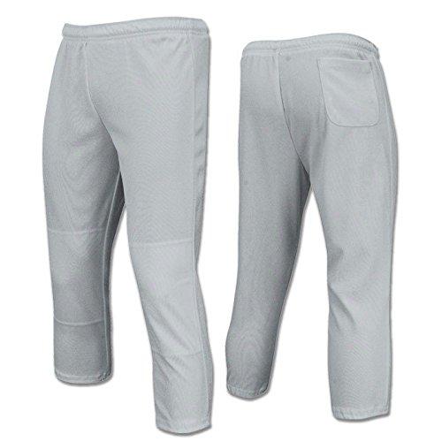 Champro値pull-up Boys Baseballパンツ、グレー、サイズLarge B01DJJWETI
