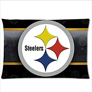 Custom Cushion Covers Pillow Cases American NFL Pittsburgh Steelers 20X30 inch Pillowcase Two sides