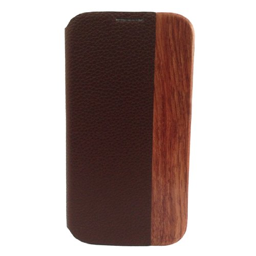 Price comparison product image Hua Li Wood Natural Wood+holster+plastic for Samsung Galaxy S4 / S 4 / S Iv / I9500 / I9505 Wood Case Cover Skin