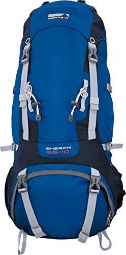 High Peak Sherpa 55+10 Rucksack blau/dunkelgrau gUx2Gi
