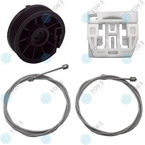 für Rover 75 RJ elektrischer Fensterheber Reparatursatz Seilzug Hinten Links