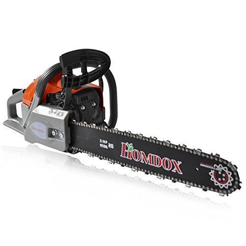 Meditool 62cc Gas Powered Chainsaw Handheld 20