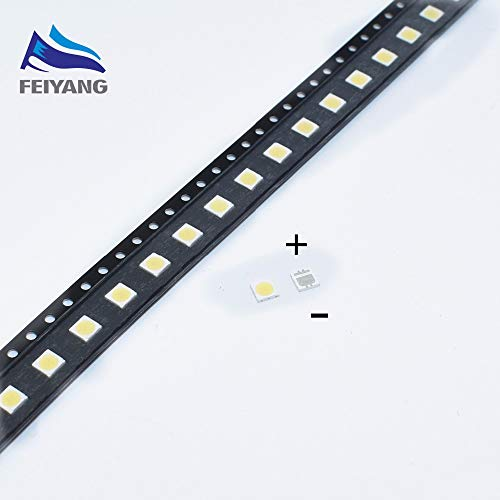Value-Trade-Inc - 100pcs SEOUL High Power LED LED Backlight 2W 3535 6V Cool white 135LM TV Application SBWVL2S0E