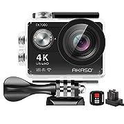AKASO EK7000 4K Sport Action Camera Ultra HD Camcorder 12MP WiFi Waterproof Camera 170 Degree Wide View Angle 2 Inch LCD…