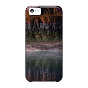 Fashionable Style Case Cover Skin For Iphone 5c- Fantasy Canyon Lscape