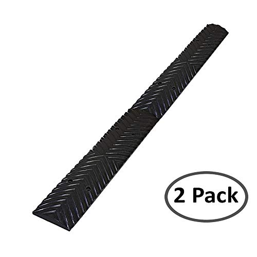 Speed Nubs Safety Bump Rumble Strips Kit: 4 Black Sections - Total Length: ()