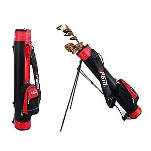 PGM Bolsa de Soporte de Golf con Bolsa de Pistola de Soporte ...