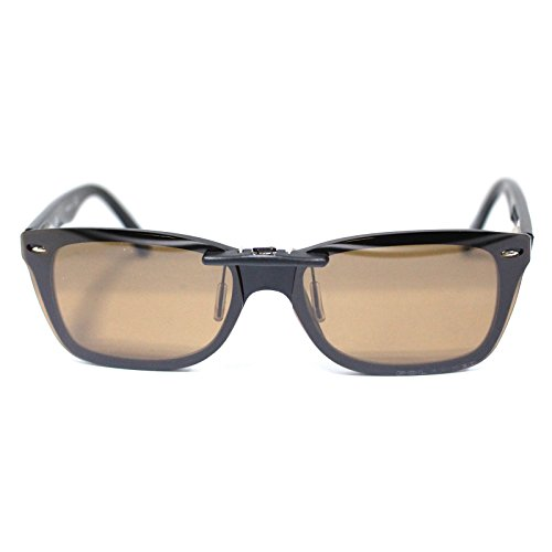 eda1505ea5 Custom Polarized Clip on Sunglasses For Ray-Ban RB5228 RX5228 Brown - Buy  Online in Oman.