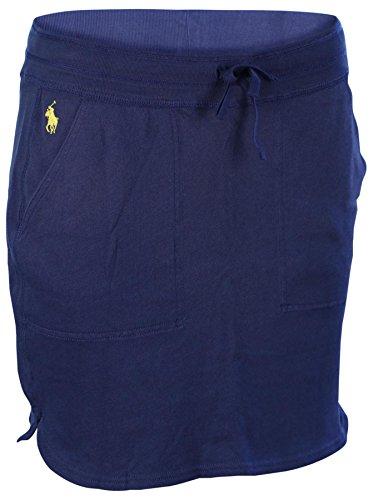 men's Casual Stretch Pony Skirt-Bali Blue-XS (Stretch Terry Skirt)