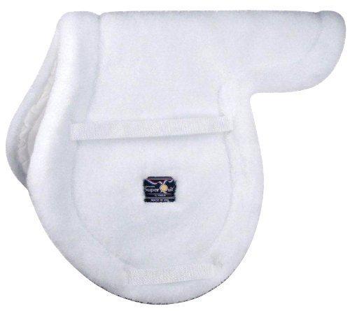 Fleece English Saddle Pads (Toklat Original Superquilt Close Contact Fleece Shaped English Saddle Pad)