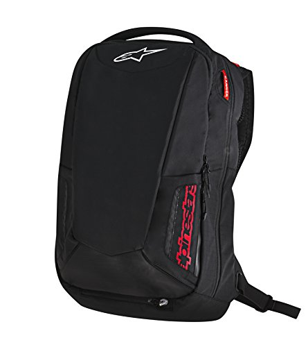 Alpinestars 3517-0402 Black/Red 25 Liter City Hunter (Alpinestars Backpack)