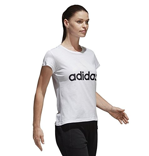 Adidas Tee camiseta Sli blanco Li mujer Ess 6xOHr6