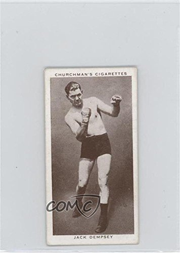 Jack Dempsey COMC REVIEWED Good to VG-EX (Trading Card) 1938 Churchman's Boxing Personalities - Tobacco [Base] #12 Jack Dempsey Memorabilia
