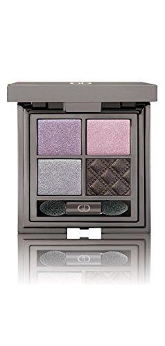 GA-DE Makeup Idyllic Soft Satin Silky Colors Eyeshadow Palette With (Violet Pure Eye Shadow)