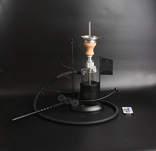 19 inch LED acrylic hookah shisha narguile whole set chicha by Generic
