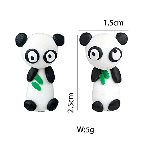 TIDOO Jewelry Hypoallergenic Handcrafted Polymer Clay Colorful Cute Animal Stud Earrings for Kids Girls Women Jewelry