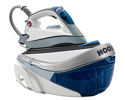 Hoover SRD4107200 IronSpeed Ceramic Plate Steam Generator Iron, 2100 W, Blue/White