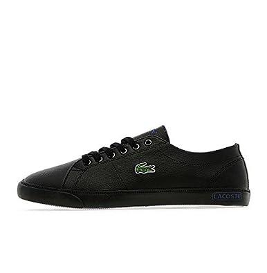 6d11b70de2a897 Lacoste Marcel CH Junior SNEAKER IN BLACK   BLUE LEATHER TRAINER UK 5 USA 6  EUR 38  Amazon.co.uk  Shoes   Bags