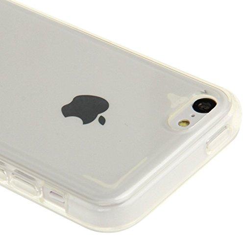 iPhone 5C Hülle Silikon Case durchsichtig transparent Clear TPU Schutzhülle iPhone5C - TheSmartGuard