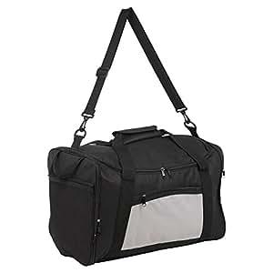 Plegable 40L deportes de viaje ligero Carry On Gimnasio Duffel Holdall–Bolsa de equipaje, Elección de Colores