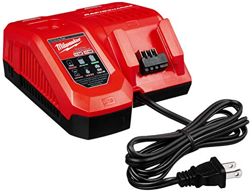 Milwaukee 48-59-1808 M18 & M12 Rapid Charger (Milwaukee Cordless Drill Charger)