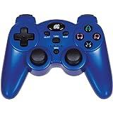 dreamGEAR PS3 Radium Wireless Controller (metallic blue) - Wireless Edition