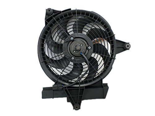 A/C Condenser Fan Assembly - Cooling Direct For/Fit HY3113109 01-06 Hyundai Santa Fe 2.4/2.7L