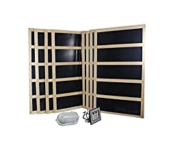 Northern Lights Group Complete Infrared sauna heater package - 2400 Watts -Digital Controller-240VAC