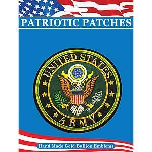 (US Army, United States Gold - Novelty Patches, Embroidered Sew On Patch - 4