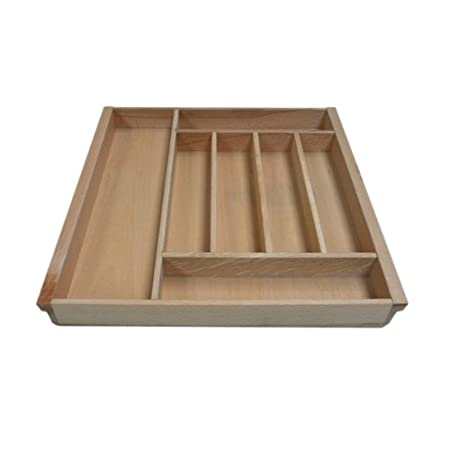Kitchen Beech Cutlery Tray Drawer Insert Selection Of Sizes Available Mm Actual