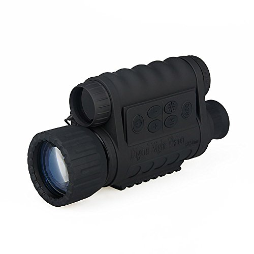 Canis Latran 6x50mm 5MP HD Digital Monocular Night Vision Camera Vedio Night Vision Scope by Canis Latran