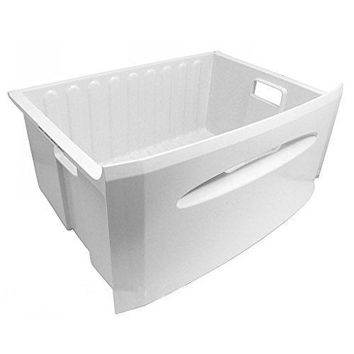 White Hotpoint Fridge Freezer Drawer Basket Plastic Box Tray