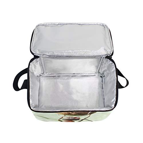 para correa de refrigerador hombro almuerzo semillas pimienta Ants Fútbol de con de picnic de Plays fiambrera Bolsa 4Pq6OwxTW