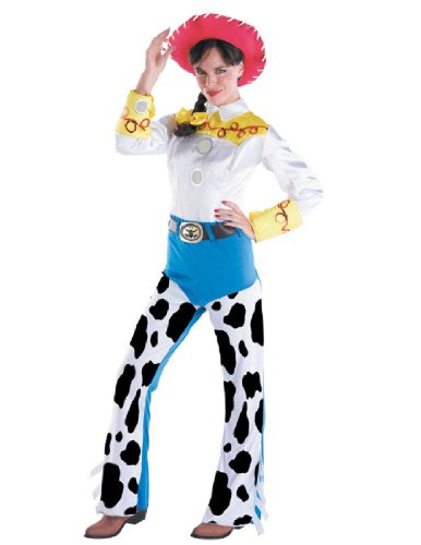 Disney Disguise Women's Jessie Deluxe Adult,Multi,M (8-10) Costume]()